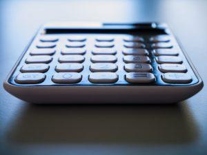 Afbeelding van rekeningmachine op de site van goedkope boekhouder gorinchem